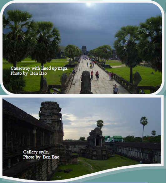 Angkor Wat Strcture