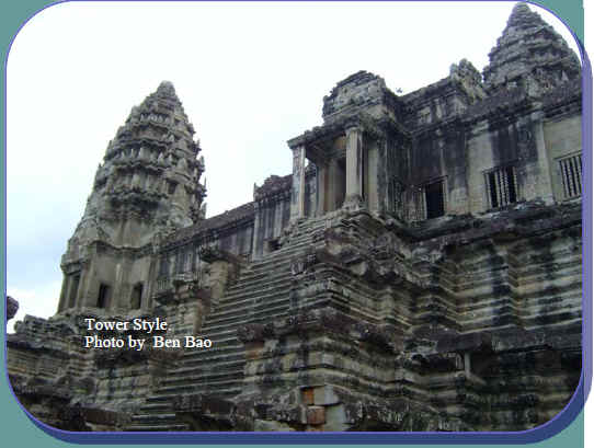 Angkor Wat Structure
